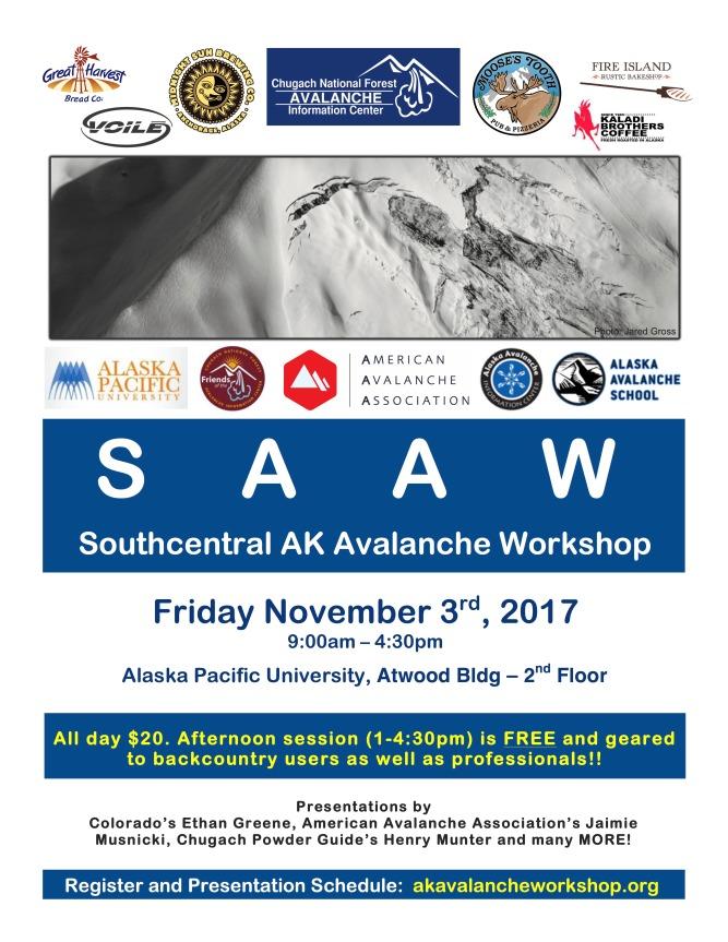 2017 SAAW flier
